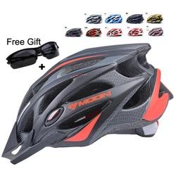 Moon cycling helmet ultralight bicycle helmet in mold mtb bike helmet casco ciclismo road mountain helmet.jpg 250x250