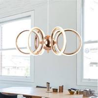European Style Led Silicone Pendant Light Creative Bar Rose Gold Clothing Shop Decorative Restaurant Pendant Lamps