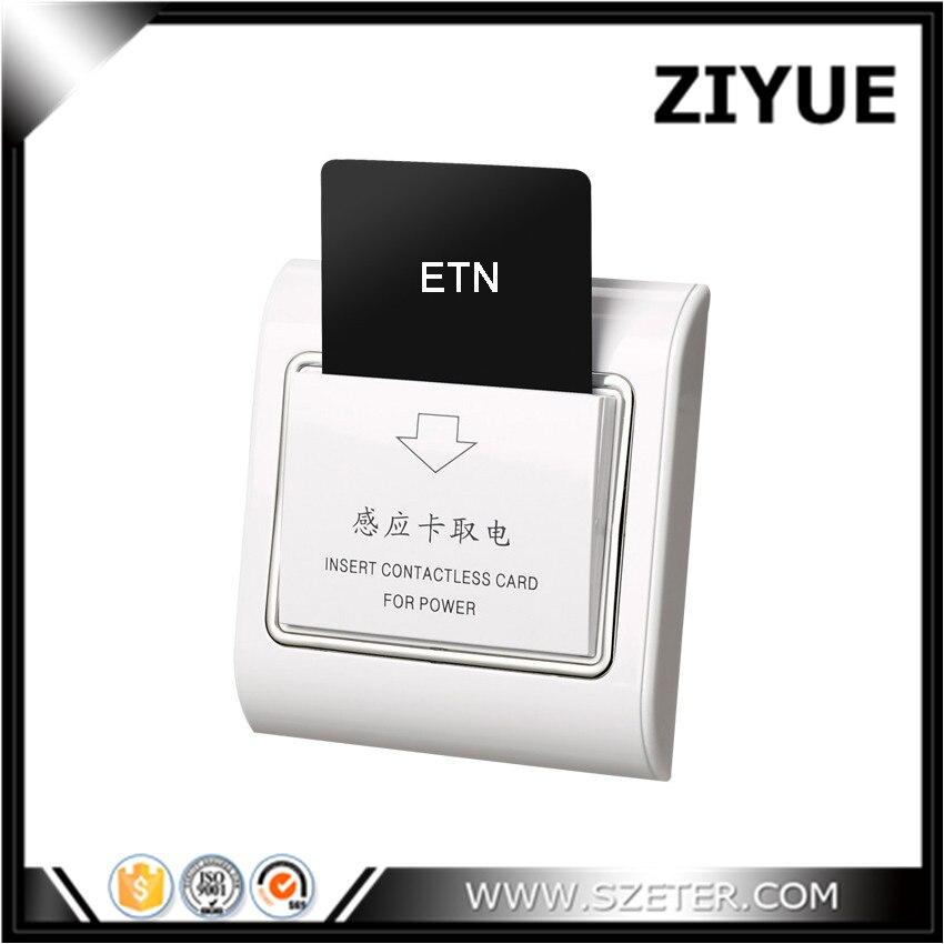 цена на Free Shipping 20pcs/lot 13.56Mhz Hotel M1 S50 Card Energy Saver Key Card Switch Hotel Switch