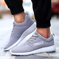 Men Casual Shoes For Spring&Summer Black White Air mash Breathable Light Lace up Walk Unisex shoes l220 65