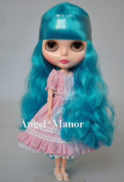 Nude Blyth Doll, blue3 long hair, big eye doll,Fashion doll Suitable For DIY Change BJD , For Girl's Gift,PL003 free shipping nude blyth doll brown gold hair big eye doll fashion doll suitable for diy change bjd for girl s gift