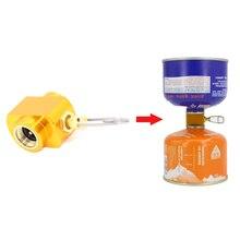 YINGTOUMAN гаечный плюс Lindal клапан канистра перезаправка адаптер вентиляционное отверстие функция газовая горелка кемпинг плита цилиндры