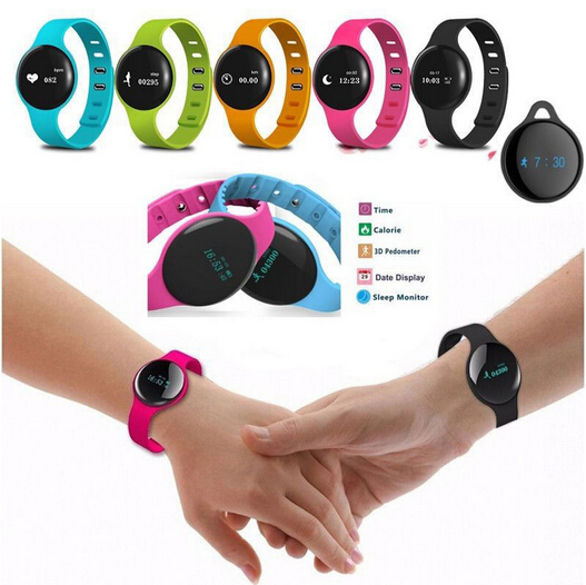 H8 Smart Band Bracelet anti lost Wearable Sport Fitness Tracker Bracelet Smartband Bluetooth Upload For IOS