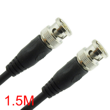 1.5M/5FT BNC Male to BNC Male Connector RG59 Coaxial Cable For CCTV Camera