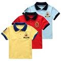 2-10 Años Niños Grandes Camisetas de Verano Chico Camiseta Camiseta Chicos top Ropa de Las Muchachas Niños Ropa Camisetas 100%-2