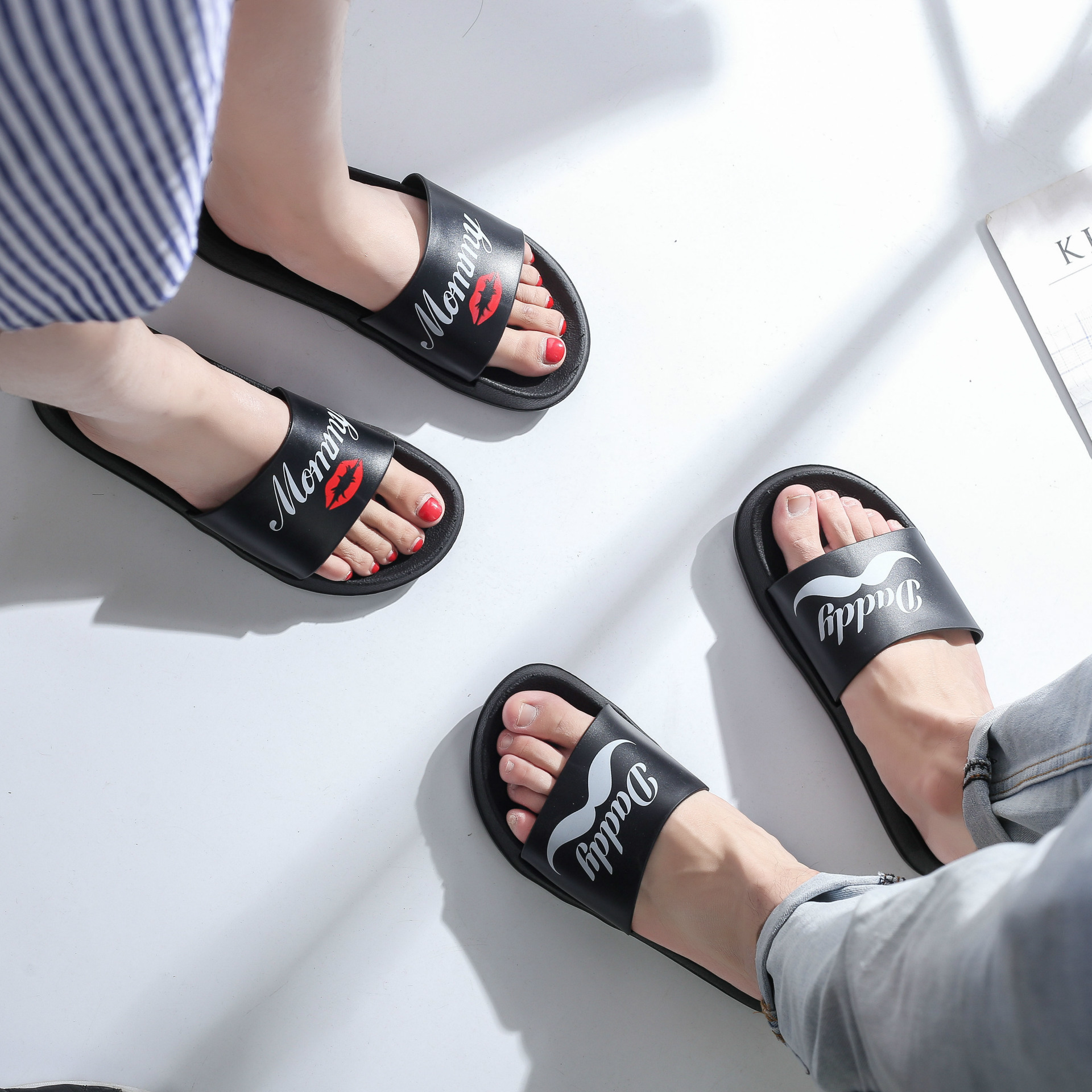 69440dfe660fc4 Women Summer Slides Flamingo Cartoon Lovely Beach Slippers Platform Sandals  Women Shoes Flip Flops Zapatillas Mujer Lovers Slide-in Slippers from Shoes  on ...