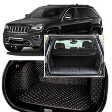цена на Full Covered Seat Pad Cargo Box Trunk Floor Mat Carpet Liner For Jeep Grand Cherokee 2014-2017