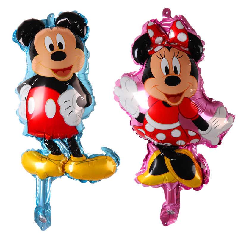 Mini Mickey Minnie Festa de Aniversário Do Bebê Decoração Balons Ar inflável