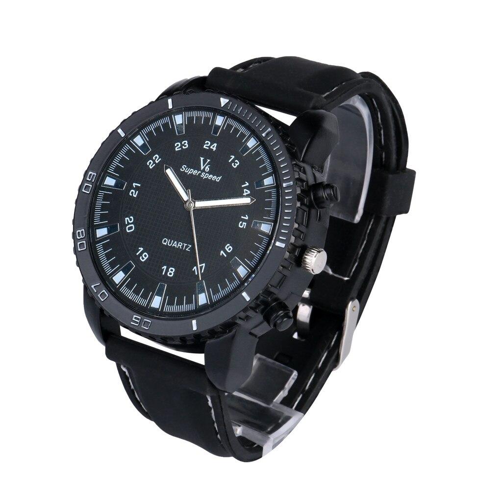 Man Watch Luxury Outdoor Sport V6 Military Silicone Quartz Watches Mens 2019 Men Wristwatch Clock saat erkekler orologio uomo