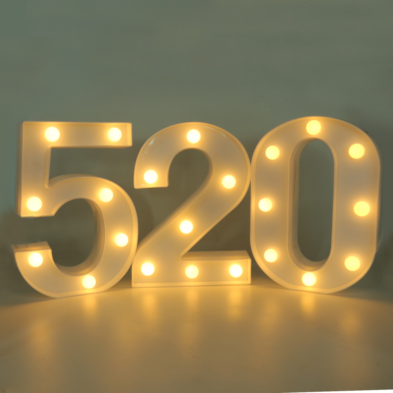 Aliexpress.com : Buy 1pcs LED Number Light Birthday Party