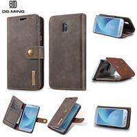 DG MING Case For Samsung Galaxy J7 2017 J730 European Version 2In1 Magnetic Flip Cover Genuine