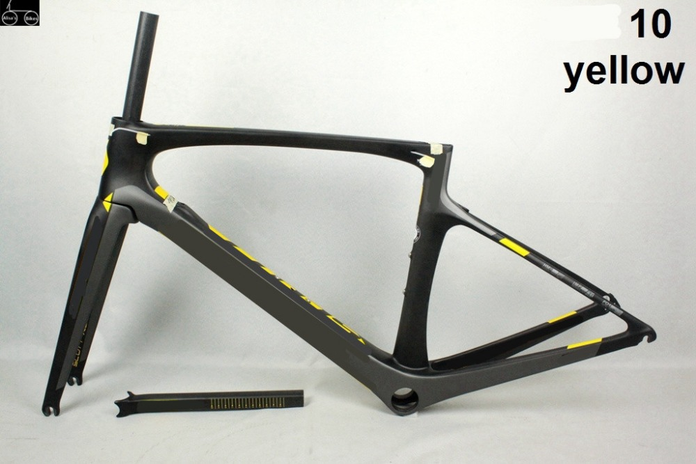 new model 2017 full carbon fiber road bike frames frame+fork+seatpost+clamp+headset PF30/BB30 cheap carbon frame road bike DIY diy carbon steel oval frame cutting dies