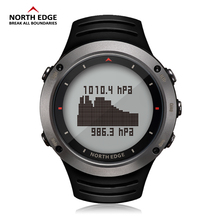 NORTH EDGE Men Sports Digital Watch Altimeter Barometer Compass Thermometer Weather Forecast Watches Running Climbing Wristwatch