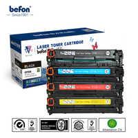 Befon cartouche de Toner couleur 210 set Compatible pour HP CF210A CF211A CF212A CF213A 131A LaserJet Pro 200 couleur M251nw M276n/nw