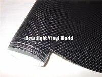 Black 4D Carbon Fiber Film Wrap For Car Stickers Size:1.52*30M/Roll