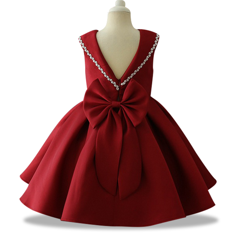 New High Quality New Year Baby Girls Dresses For Weddings Party Ball Gown Dresses Evening Gowns Vestido Girls Clothes 3-10yrs