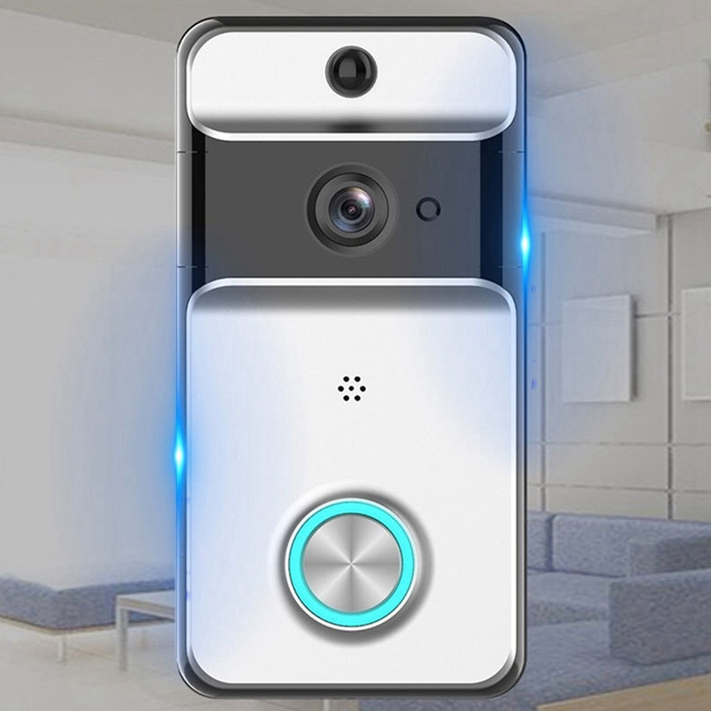 Video Doorbell Waterproof Infrared Camera Wireless Wifi Intelligent Video Walkie Talkie System in Doorbell from Security Protection