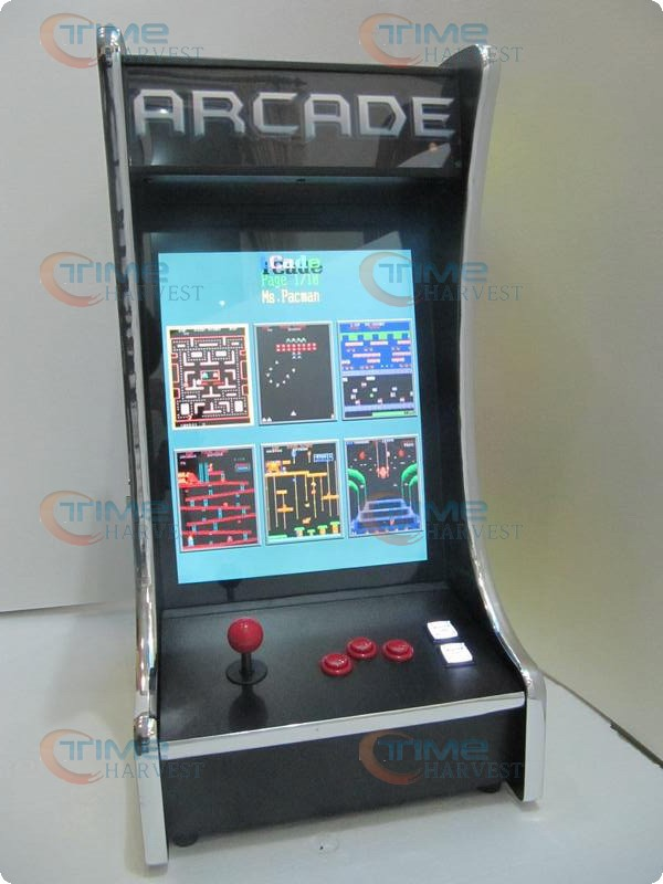 19 inch LCD Table top arcade Machine With Classical games 60 in1 Game PCB with long shaft joystick and Round button good quality wholesale products 22 inch mini arcade game machine with 2100 in 1 pcb mini desktop arcade cabinet