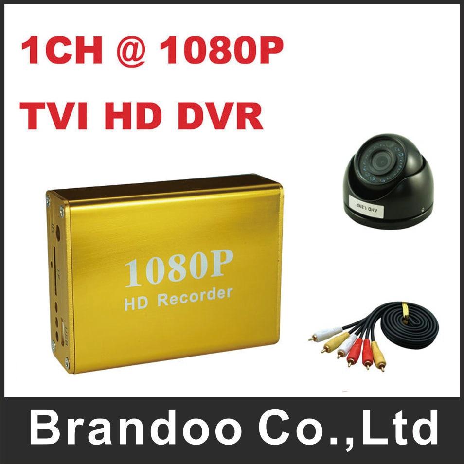 TVI HD 1080P 1CH CAR DVR + 1pcs 1080P Mini DOME Camera,support 128GB sd card,for taxi,bus,private car use цена