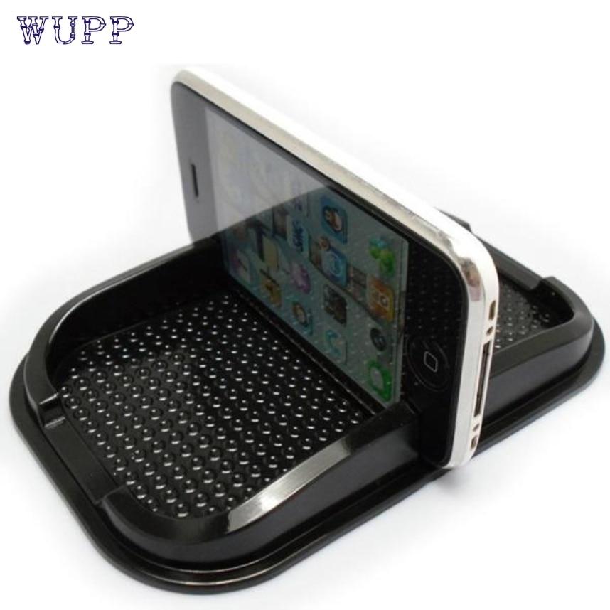 wupp Creative Design Black New Car Non Slip Sticky Auto Anti Slip Dashboard Pad Mat Holder