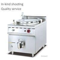 100 140L Commercail Vertikale Gas kochen topf edelstahl mezzanine suppe topf Natürliche gas/Verflüssigtes gas schmortopf-in Küchenmaschinen aus Haushaltsgeräte bei