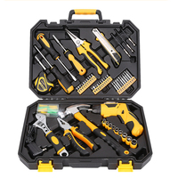 Tool for Car Repair Home Repair Tool Kit Set Electrician Hand Tool Set Household Tool Kit Saw Screwdriver Hammer Tape Wrench
