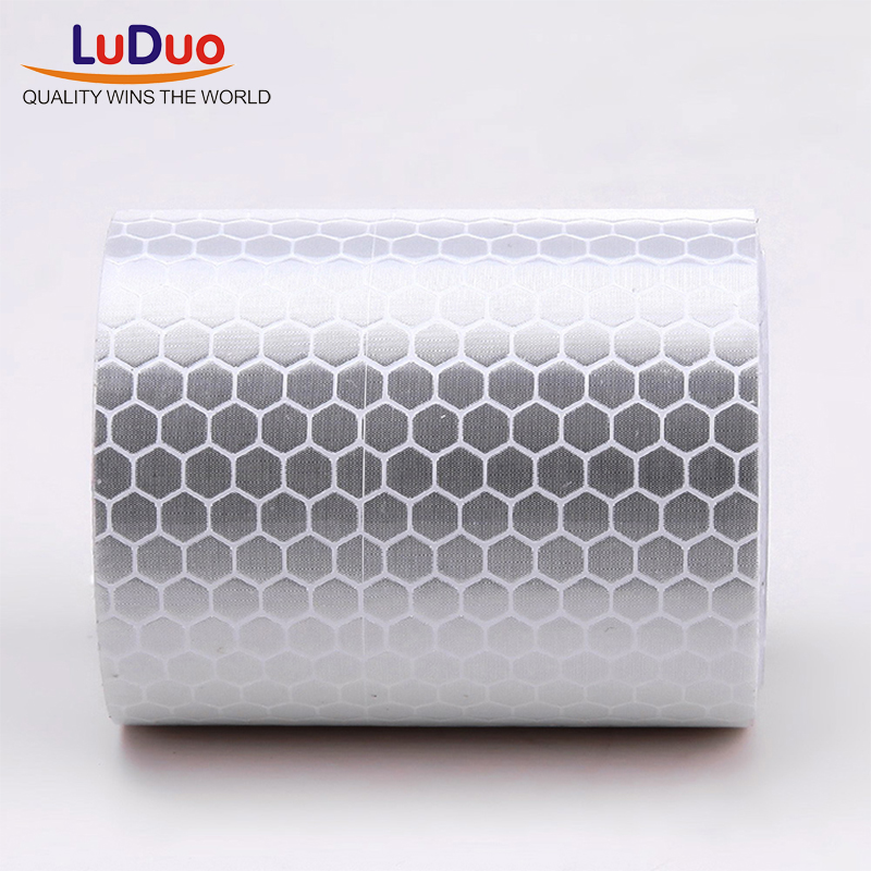 Luduo 5cmx3m Reflective Strips Tape Car Stickers Safety Mark Adhesive Warning Glow Dark Night Tape Motorcycle Film Accessories