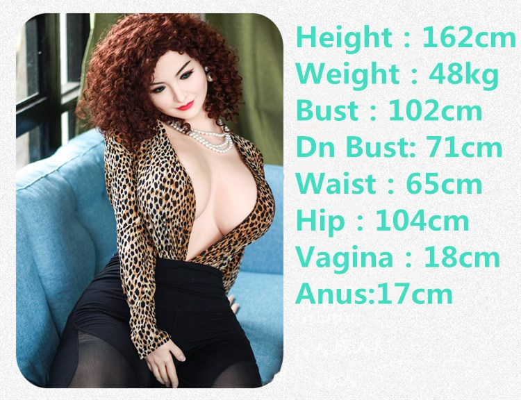 162cm real TPE solid silicone sex love doll head realistic oral vagina pussy anal non inflatable blow job adult erotic sex toys in Sex Dolls from Beauty Health