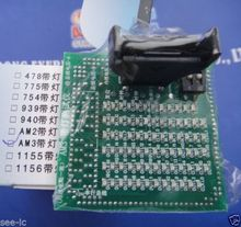 Cpu de escritorio AM3 probador del zócalo zócalo de la CPU analizador de carga ficticia falso carga con LED