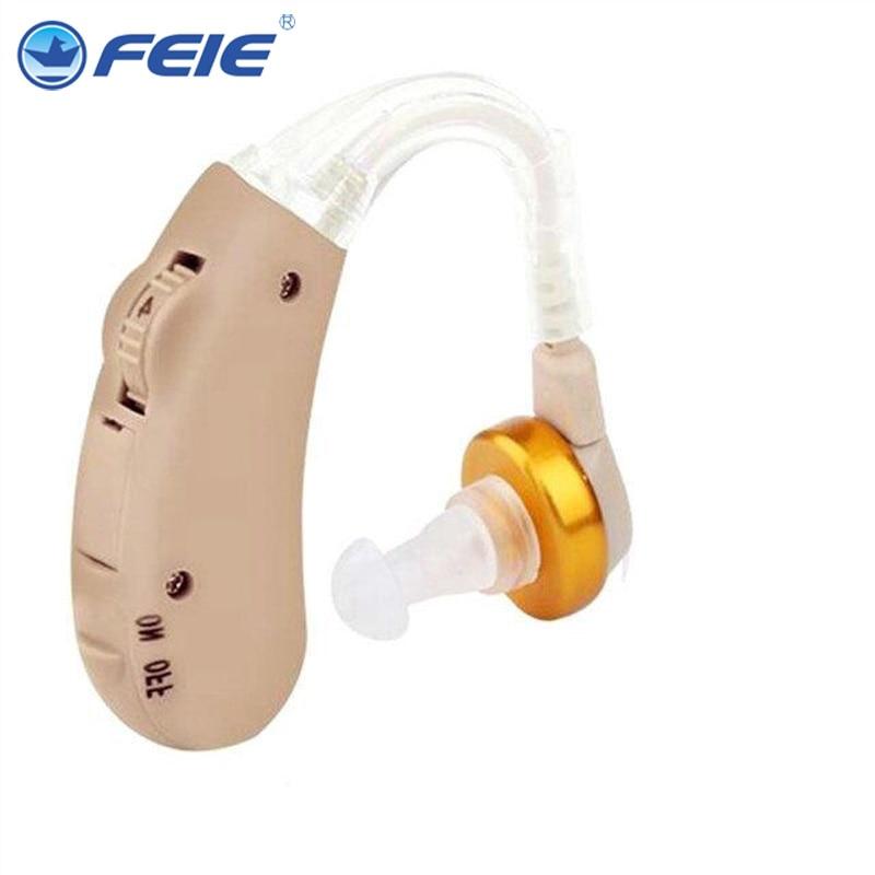 Hearing Aid Portable Adjustable Tone Headphone Hearing Amplifier Whirl Hook S-288 Drop Shipping bet analog hearing aid portable adjustable headphone hearing amplifier micro aparelho auditivo s 288 free shipping