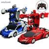 2 In 1 Transformation RC Car Models Toy Remote Control Classic Figures Deformation Robots Toys Fun