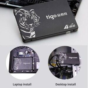 Image 4 - Tigo SSD DA 480 GB SATA da 2.5 pollici Interno Solid State Drive per il Computer Portatile Desktop PC Hard Drive Disk 480 GB HDD di Garanzia 3 anni