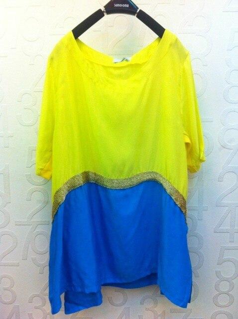 Summer women's 2013 small fresh fashion colorant match 8120 one-piece dress