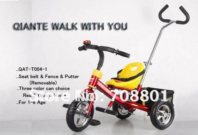 QIANTE Niños QAT-T004 Vintage LEXUS Trike Triciclo Al Por Menor y Al Por Mayor envío Rápido