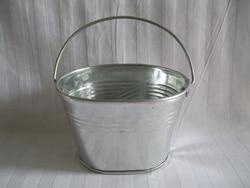 10pcs lot d9 w7 h6cm tin pails small nursery pots zinc bucket galvanized planter oval sharp.jpg 250x250