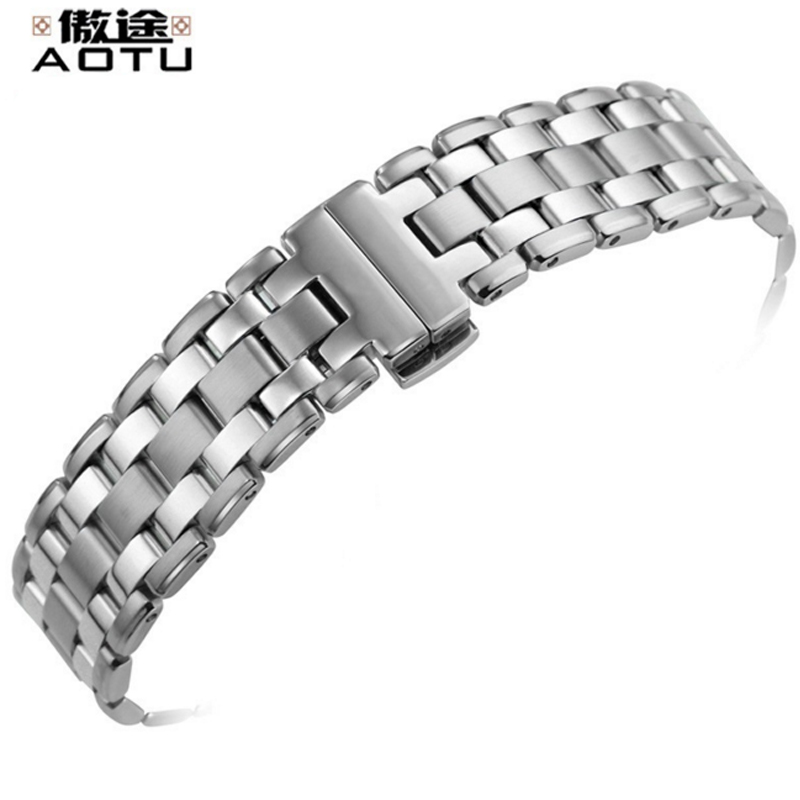 18MM Stainless Steel Watchbands For Tissot 1853 LADY Series T072 Watches Band Women Bracelet Belt Watch Straps Top Brand Strap isunzun watch bands for tissot 1853 t045 407a t045 harbor series steel strip brand watch straps stainless steel watch chain