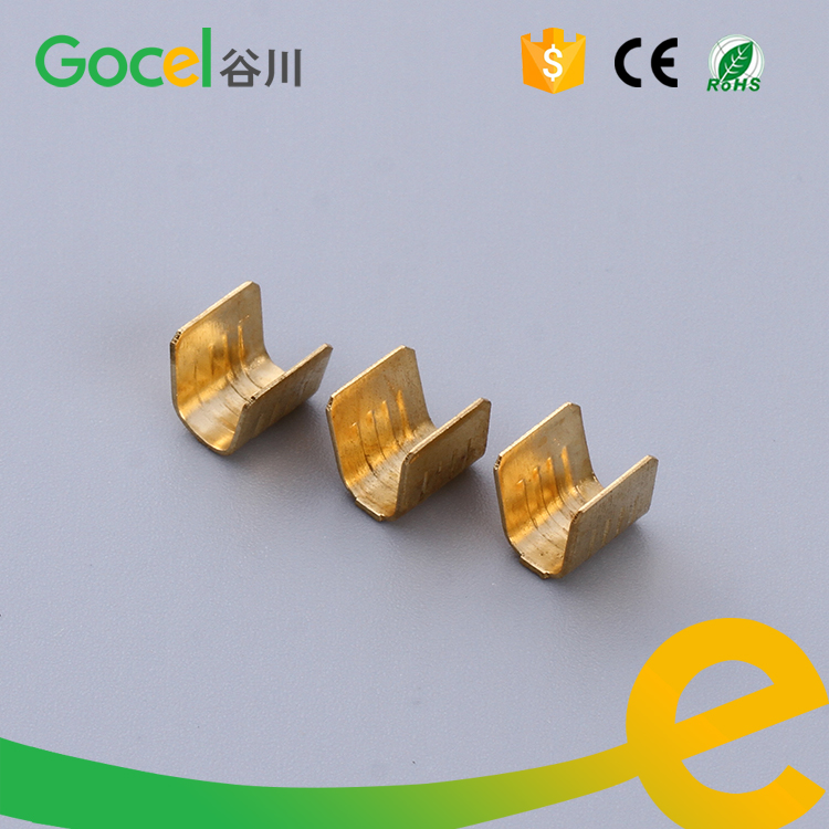 u shape terminal wire crimp terminal brass electrical connector rh aliexpress com wiring crimp connectors wiring crimping tool