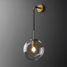Modern LED living room sconces Nordic lighting bedroom Wall lights home deco fixtures Corridor aisle Wall lamps