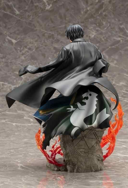 Figuras Anime Fullmetal Alchemist Roy Mustang Y6433 ARTFX J Action figure coleção de brinquedos para presente de aniversário