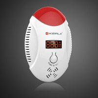 Kerui Wireless LED Digital Display Carbon Monoxide Gas Sensor CO Detector Alarm Warning Alarm Sensor