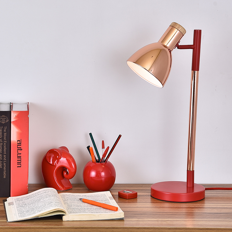 Die holzarbeiten leselampe moderne schlafzimmer nachttischlampen buch studie kreative büro - 3