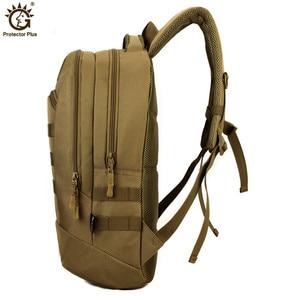 Image 2 - 1000D wodoodporny plecak wojskowy z nylonu Molle Army Tactics plecak plecak obóz plecak podróżny Mochila Escolar
