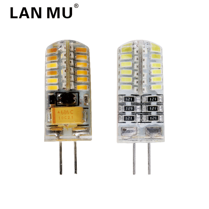 G4 led Lamp 12V AC DC SMD3014 3W 5W 6W  24LED 48LED Replace 20W 30W 40W halogen lamp 360 Beam Angle LED Bulb SMD 2835 g4 led bulb smd 2835 3014 g4 led lamp 3w 4w 5w 6w 7w 10w led light ac dc 12v 220v 360 beam angle replace chandelier halogen lamp