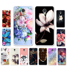 Ojeleye DIY Patterned Silicon Case For ZTE Blade V7 Lite Soft TPU Cartoon Cover V6 Plus Covers Anti-knock Shell