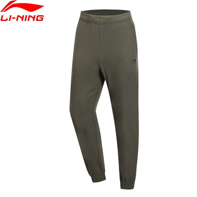Li Ning Men The Trend Pants AT PROOF SMART Waterproof Regular Fit 90 Polyester 10 Spandex