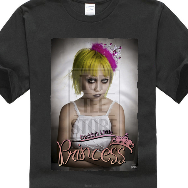 92a9c6eb9d3ca US $7.03 12% OFF Free Shipping Summer Fashion Daddy'S Little Princess  Spoiled Brat Sexy belle Swag Print Tee Shirts 026-in T-Shirts from Men's ...