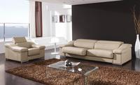 Darmowa Wysyłka Dom projektuje Luksusowe 123 Prawdziwa Top grain leather Sofa,, które wykonane z litego drewna ramki, przytulne i trwałe