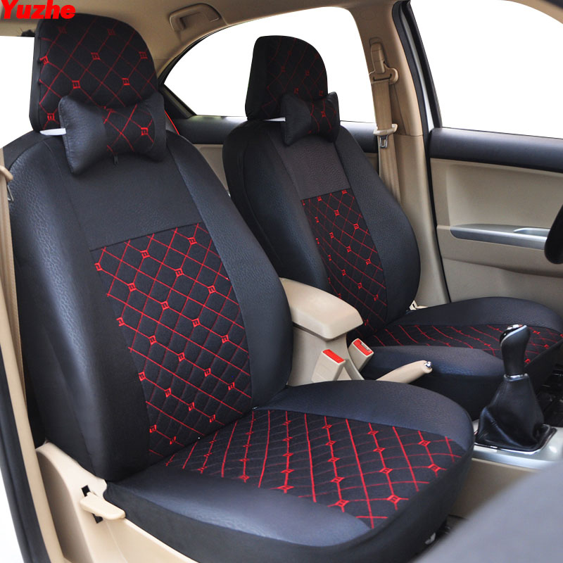 Yuzhe Universal Auto car seat cover For volvo v50 v40 c30 xc90 xc60 s80 s60 s40 v70 car accessories cover for vehicle seat car wind universal auto car seat cover for volvo v50 v40 c30 xc90 xc60 s80 s60 s40 v70 car accessories seat protector styling
