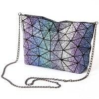 2017 Fashion Miyka Bag Women Tote Fold Summer Baobao Hand Bag Laser Geometric Designer Handbags High