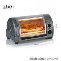 LSTACHi 800 Вт 31334 CN Американский Печи Хлебопекарной многофункциональный мини печи для пиццы машина